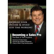 Becoming a Sales Pro Made for Success, Tom Hopkins Audiobook CD