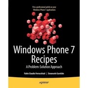 Windows Phone 7 Recipes Fabio Claudio Ferracchiati And  Emanuele Garofalo Paperback