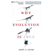 Why Evolution Is True Audiobook CD Jerry A. Coyne