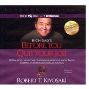 Rich Dad's Before You Quit Your Job Audiobook CD Robert T. Kiyosaki