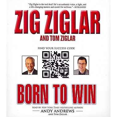 Born to Win Zig Ziglar , Tom Ziglar CD