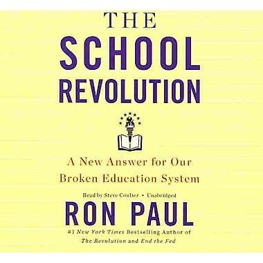 The School Revolution Ron Paul Audiobook CD
