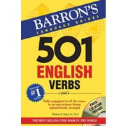 501 English Verbs with CD-ROM  Thomas R. Beyer Jr Paperback