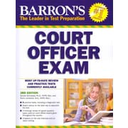 Barron's Court Officer Exam, 3rd Edition  Donald Schroeder,  Frank Lombardo  Paperback