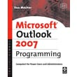 Microsoft Outlook 2007 Programming Sue Mosher Paperback