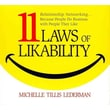 11 Laws of Likability Michelle Tillis Lederman Audiobook CD