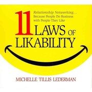11 Laws of Likability Michelle Tillis Lederman Audiobook CD
