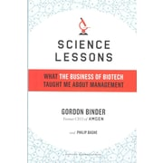 Science Lessons Gordon Binder, Philip Bashe Hardcover