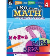 180 Days Of Math Book Jodene Smith For Fourth Grade