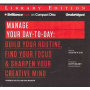 Manage Your Day-to-Day Audiobook CD Jocelyn K. Glei