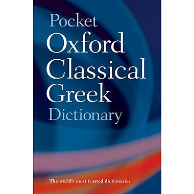Pocket Oxford Classical Greek Dictionary James Morwood, John Taylor Paperback, Used Book