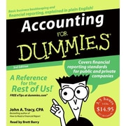 Accounting for Dummies John A. Tracy Audiobook