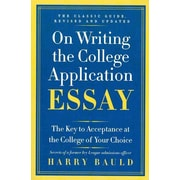 on writing the college application essay harry bauld summary
