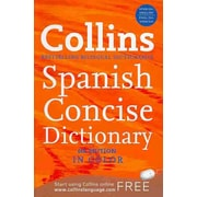 Collins Spanish Concise Dictionary HarperCollins Publishers Ltd. Paperback