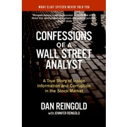 Confessions of a Wall Street Analyst Daniel Reingold, Jennifer Reingold Paperback