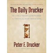 The Daily Drucker Peter F. Drucker Hardcover