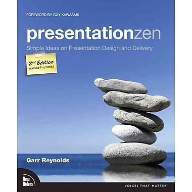 Presentation Zen: Simple Ideas on Presentation Design and Delivery Garr Reynolds Paperback, Used Book