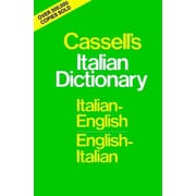 Cassell's Italian Dictionary Piero Rebora Hardcover