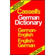 Cassell's German-English English-German Dictionary Harold T. Betteridge Hardcover