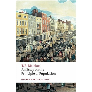thomas malthus first essay on population summary An essay on the principle of population 2 1st edition the full title of the first edition of malthus' essay was an essay on the principle of population, as it.