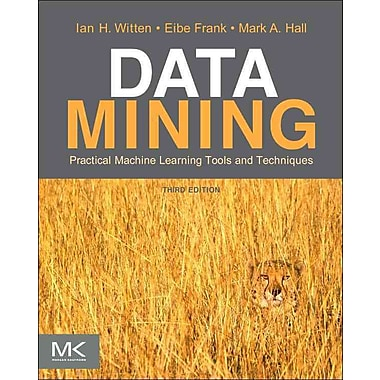 Data Mining Ian H. Witten, Eibe Frank, Mark A. Hall Paperback, Used Book, (0123748560)