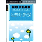 A Midsummer Night's Dream SparkNotes Paperback