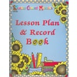 Lesson Plan & Record Book Teacher Created Resources Staff Spiral-Bound