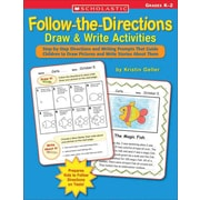 Follow-the-Directions Draw & Write Activities Kristin Geller Paperback