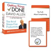 Getting Things Done Productivity Cards David Allen Cards