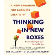 Thinking in New Boxes Luc de Brabandere, Alan Iny CD