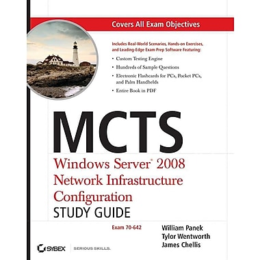 MCTS: Windows Server 2008 Network Infrastructure Configuration Study Guide: Exam 70-642 Paperback, (0470261699)