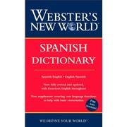 Webster's New World Spanish Dictionary Harraps Paperback