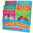 Easy Reader Biographies Scholastic Teaching Resources, Danielle Blood  Paperback