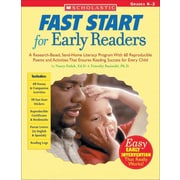 Scholastic Fast Start For Early Readers Grades K-2 (Teaching Resources) Nancy Padak Paperback