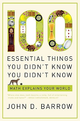 100 Essential Things You Didn't Know You Didn't Know John D. Barrow Paperback 589989
