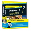 Windows 7 For Dummies Book + DVD Bundle Andy Rathbone Paperback