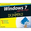 Windows 7 Just the Steps For Dummies Nancy C. Muir Paperback
