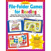Instant File-Folder Games for Reading  Marilyn Myers Burch, Marilyn Burch Paperback