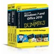Windows 7 & Office 2010 For Dummies, Book + DVD Bundle Andy Rathbone, Wallace Wang  Paperback