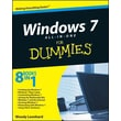 Windows 7 All-in-One for Dummies Woody Leonhard Paperback