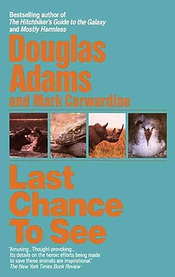 Last Chance to See Douglas Adams, Mark Carwardine Paperback 597472