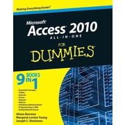 Access 2010 All-in-One For Dummies Paperback