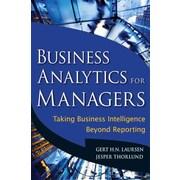 Business Analytics for Managers Gert H. N. Laursen, Jesper Thorlund  Hardcover