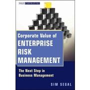 Corporate Value Of Enterprise Risk Management Sim Segal  Hardcover