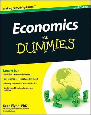 Economics For Dummies Sean Masaki Flynn Paperback 609932