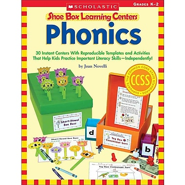 Shoe Box Learning Centers Phonics Joan Novelli Paperback, Used Book