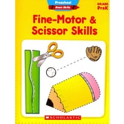 Preschool Basic Skills: Fine-Motor & Scissor Skills Scholastic Teaching Resources Paperback