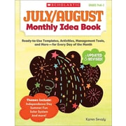 July & August Monthly Idea Book Karen Sevaly Paperback