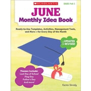 June Monthly Idea Book Karen Sevaly Paperback