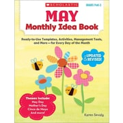 May Monthly Idea Book, Grades Prek-3 Karen Sevaly Paperback